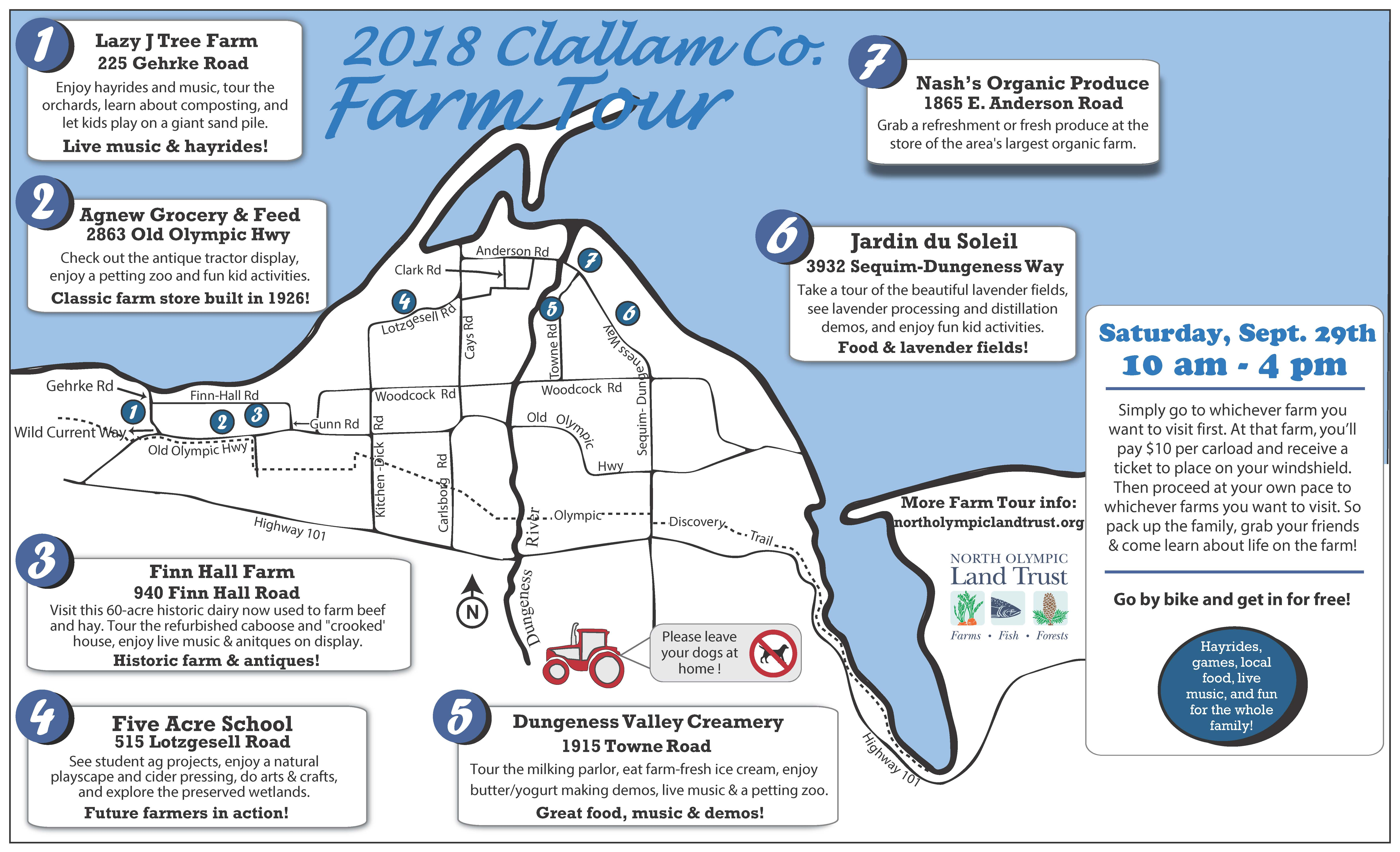 21st Clallam County Farm Tour - North Olympic Land Trust